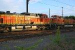 BNSF 5101 on K040 oil train